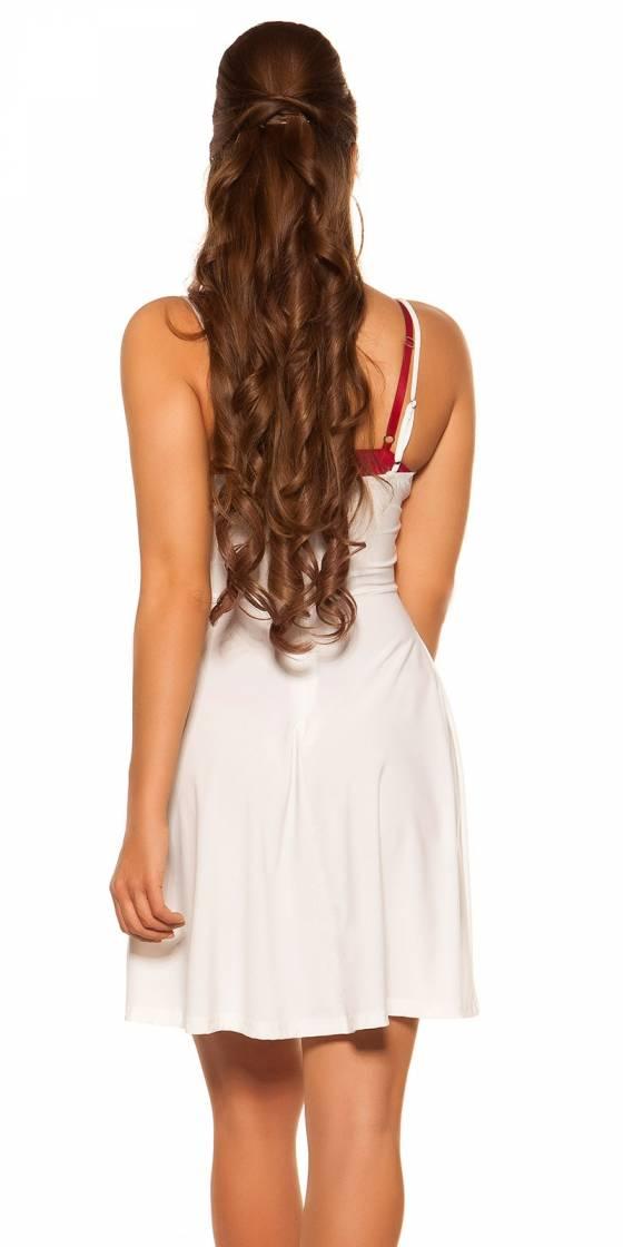 Sexy KouCla mini dress with...