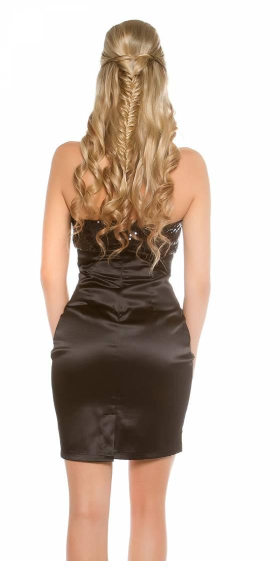 Sexy Bandeau-Cocktail-Dress