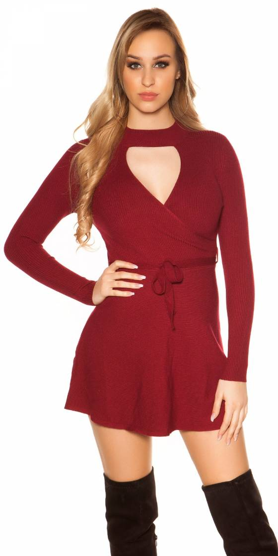 Sexy KouCla ripp knit dress...
