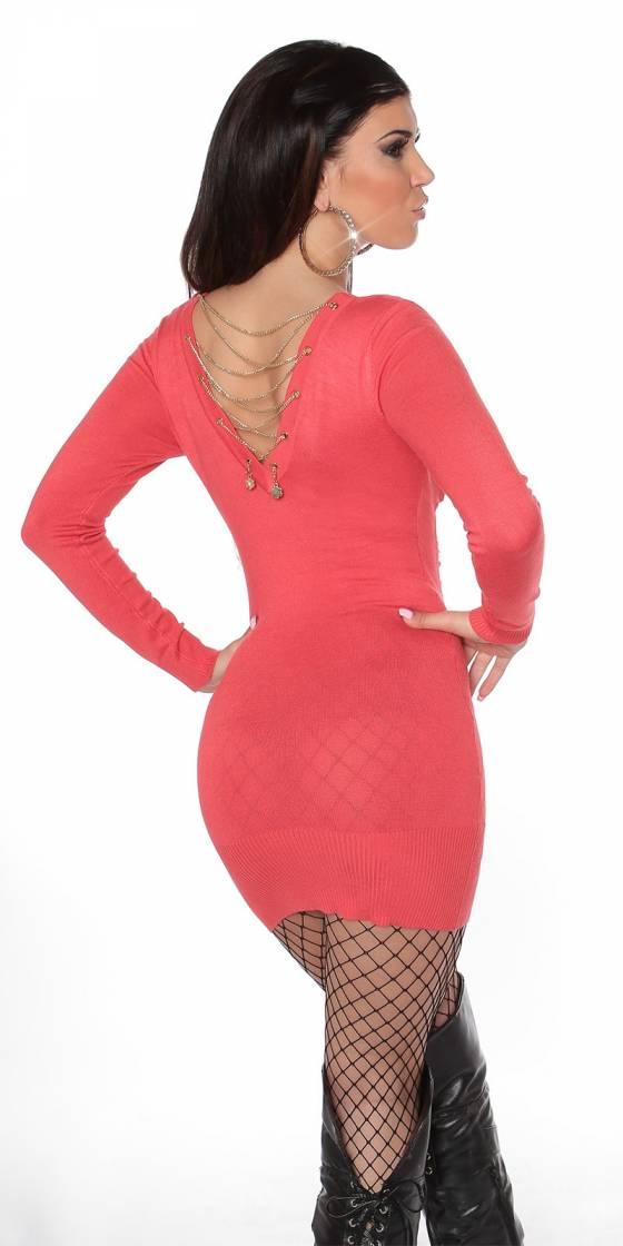 Sexy KouCla knit-dress with...