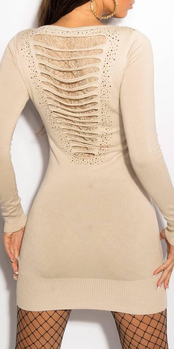 Sexy KouCla knitdress with...