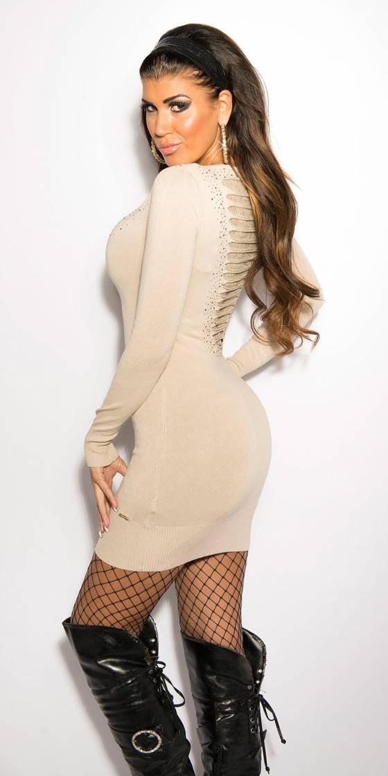 Robe femme tendance ENORA couleur gris