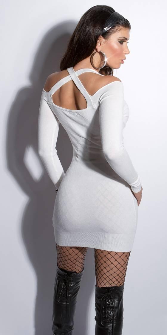 Mini robe sexy en maille
