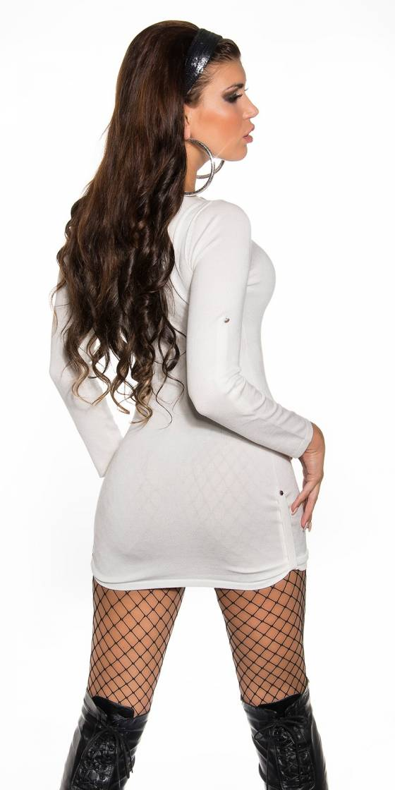 Robe Pull sexy en maille...