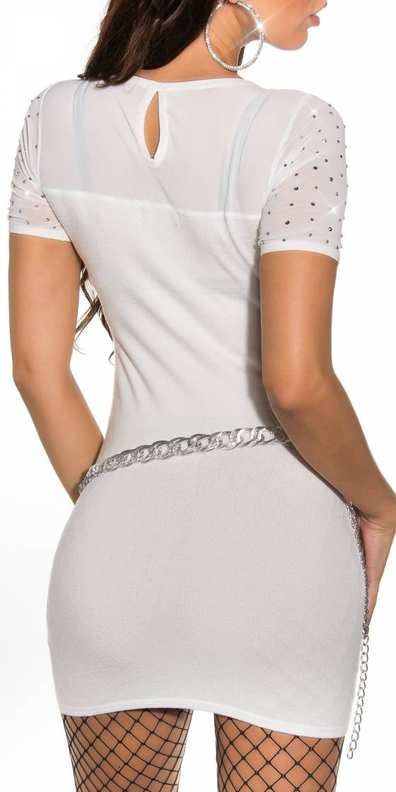Robe pull en maille sexy