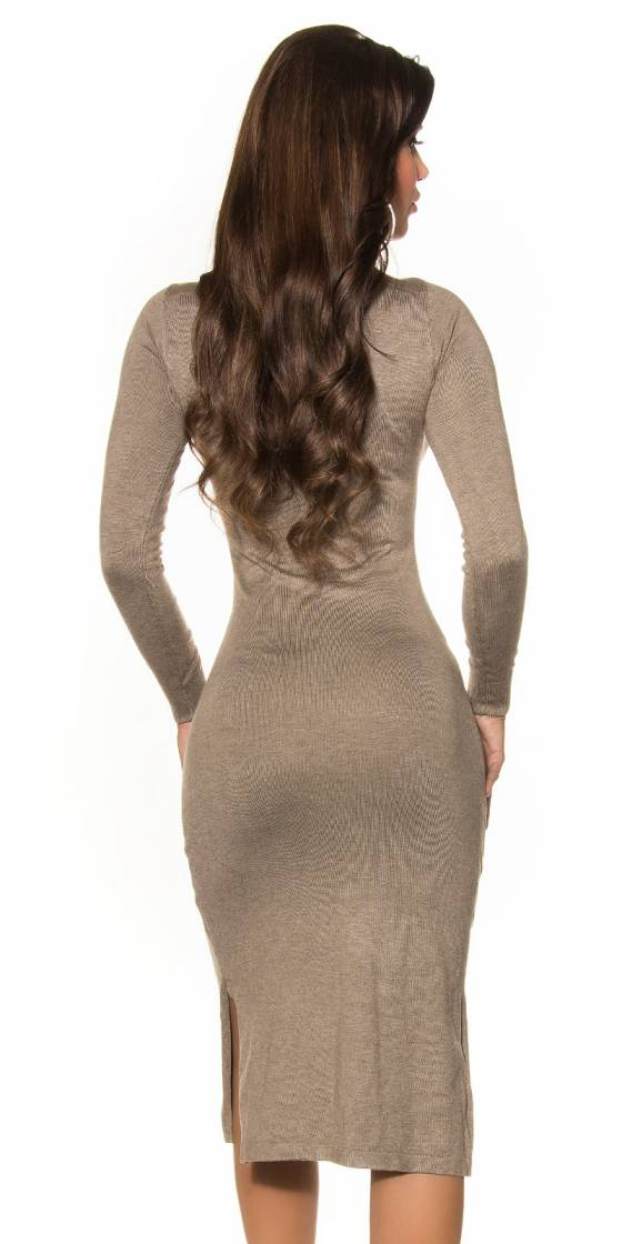 Sexy KouCla knit dress with...