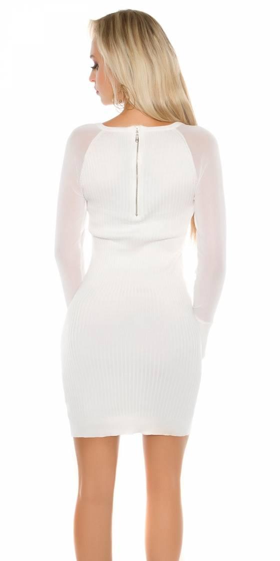 Sexy KouCla knit dress with...