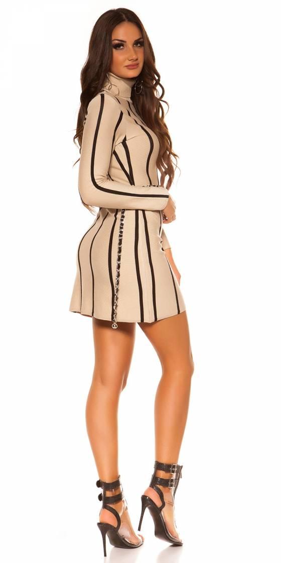 Robe sexy Tendance Fashion DEBRA couleur léopard