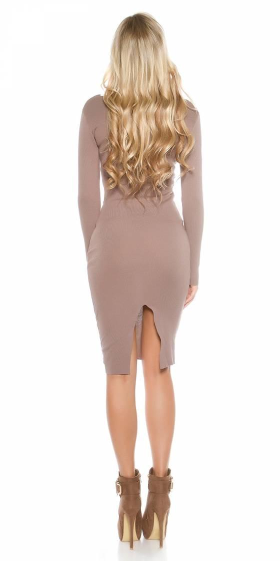 Combi sarouel femme fashion LEANE couleur corail