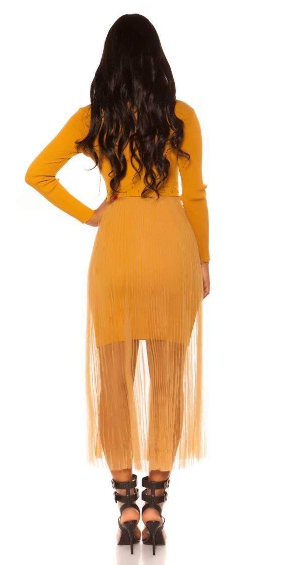 Top femme sexy SERENA couleur jaune