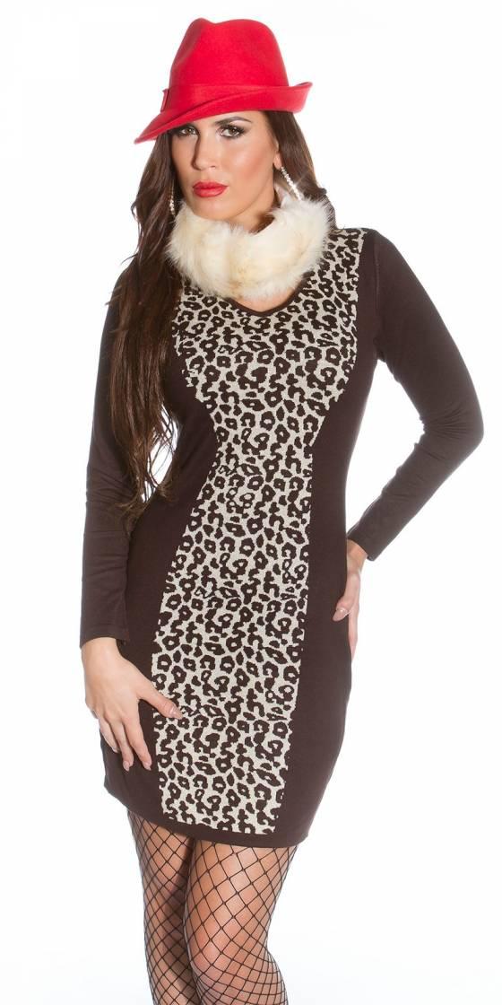 Robe nouvelle collection KASSY avec ceinture couleur aqua