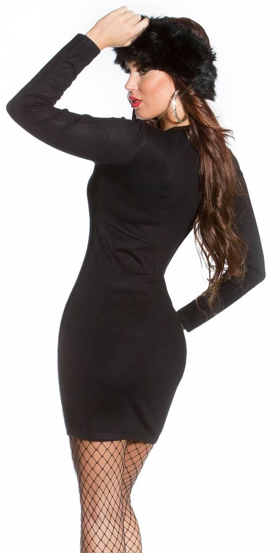 Sexy Shape! Knit mini dress...