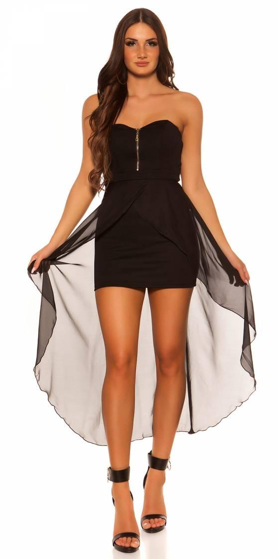 Sexy KouCla high-low-dress...