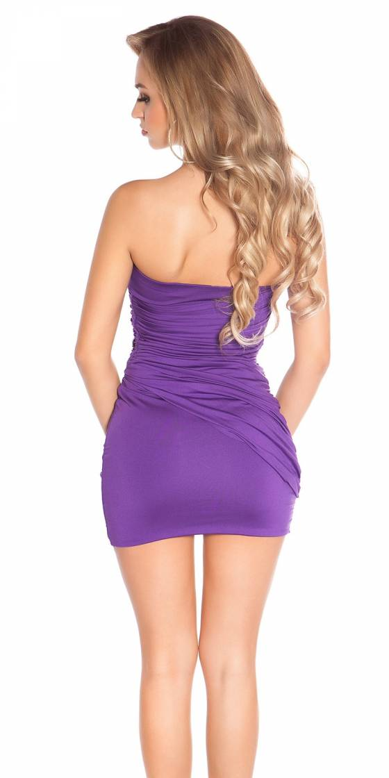 Sexy Bandeau Minidress with...
