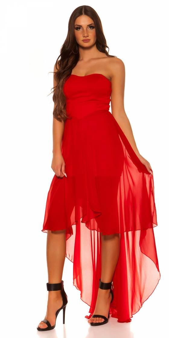 Robe femme sexy CANDICE couleur rouge