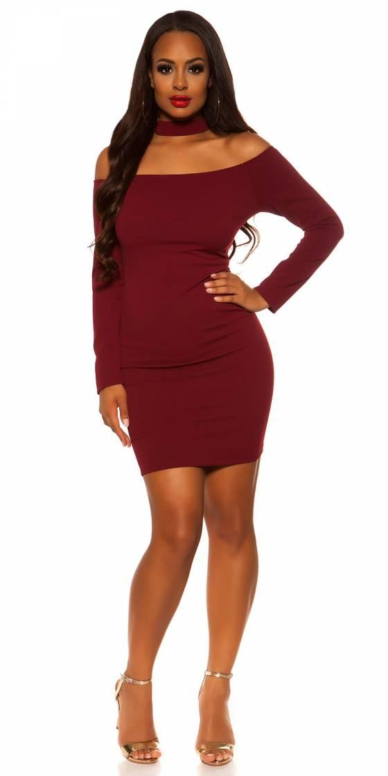 Robe tendance fashion LOLA couleur rouge