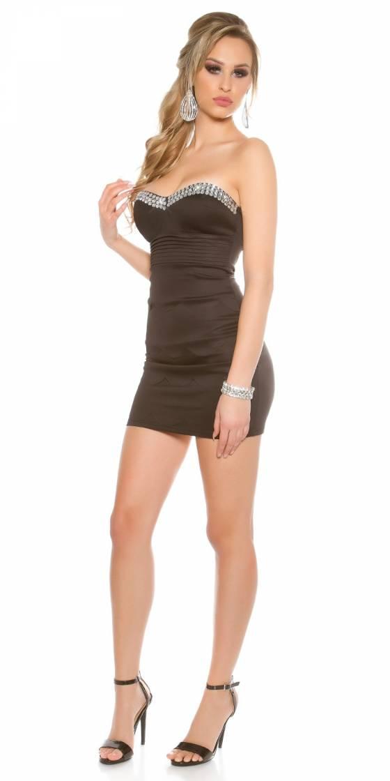 Long pull femme tendance ELINA couleur noir
