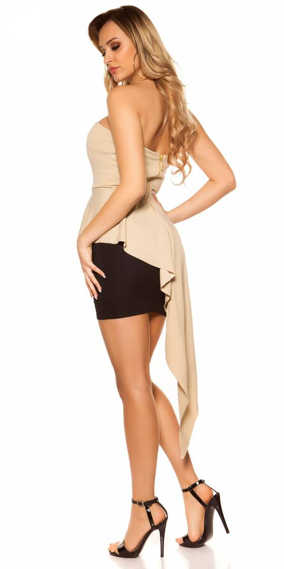 Long pull femme fashion MELINA couleur blanc
