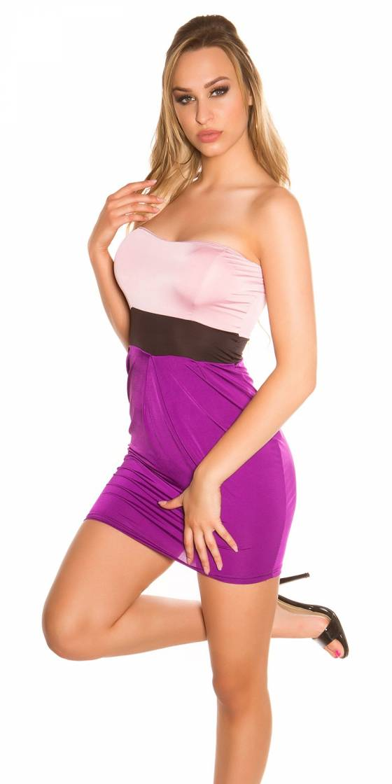 Robe nouvelle collection LAURY couleur rose
