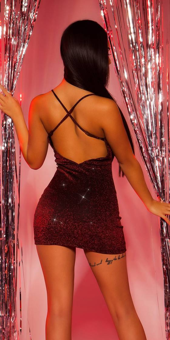 Sexy Party Glitter  Mini dress