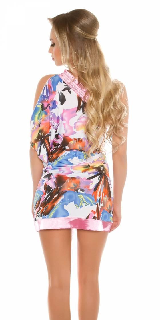 Sexy One-Arm-Minidress with...