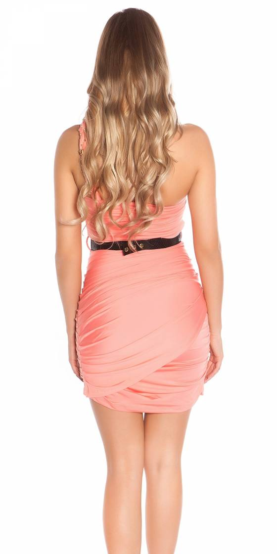 Robe femme sexy LOUNA couleur rouge
