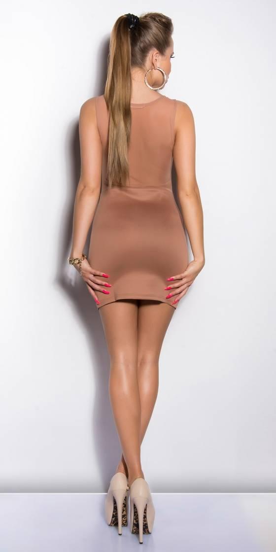 Robe-Long pull tendance fashion MAINA couleur saphir