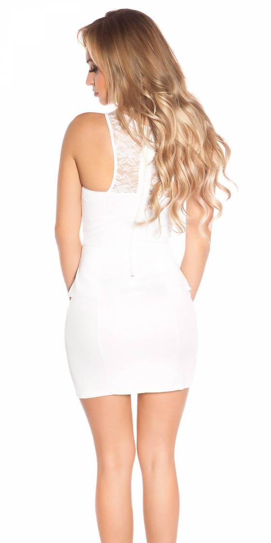 Mini robe sexy avec de la...
