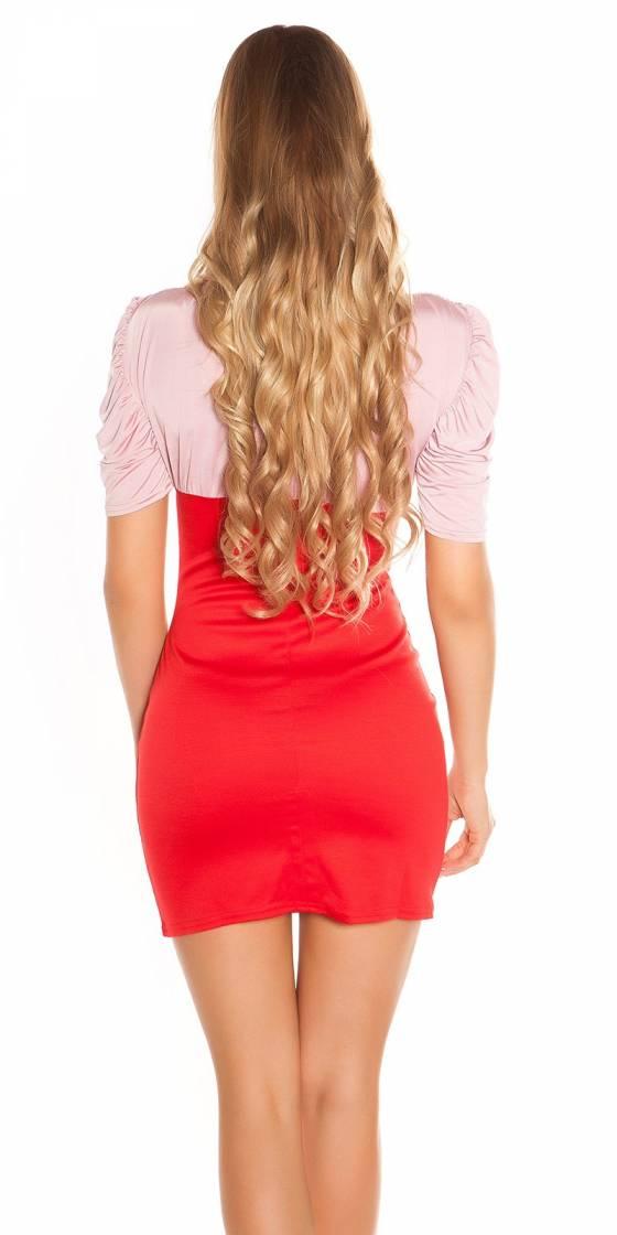 Sexy Minidress Bi-Coloured