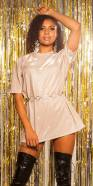 Trendy LeT s PaRTY glitter shirt dress