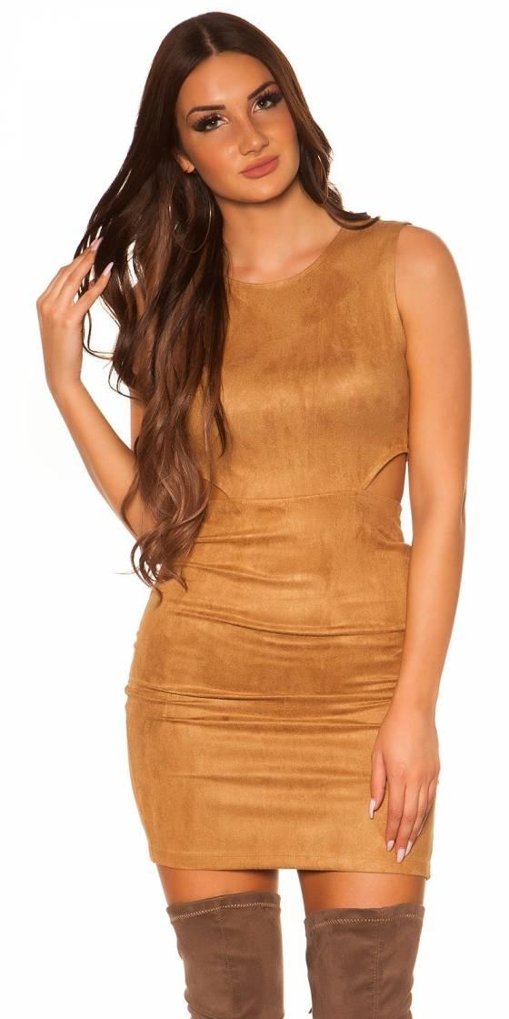 Sexy sheath dress with cut...
