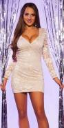 Sexy KouCla minidress with lace