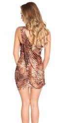 Robe femme sexy NORAH couleur léopard