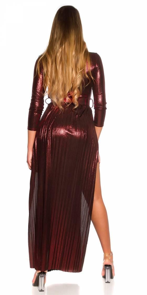 Robe nouvelle collection ALYSSA couleur corail