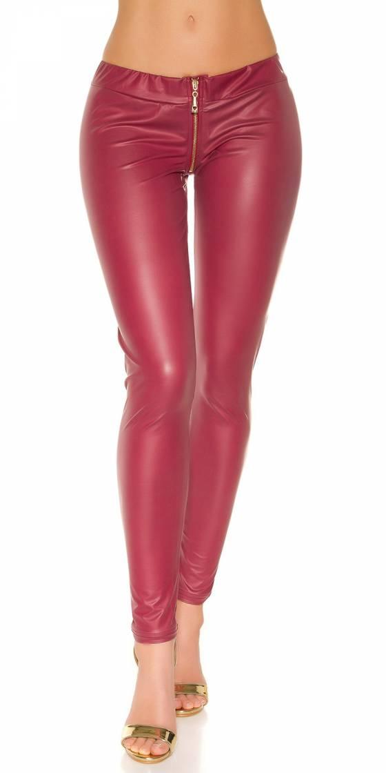 Sexy KouCla leggings with zip