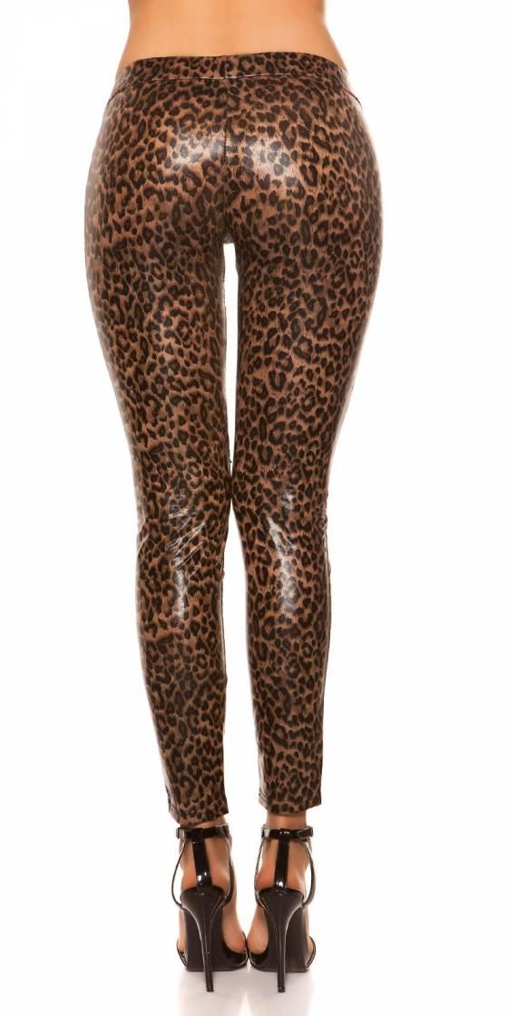 Pantalon sexy simili cuir