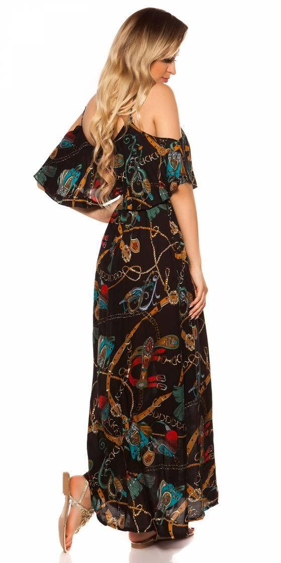 Robe-Long pull femme fashion JULIANA couleur fushia