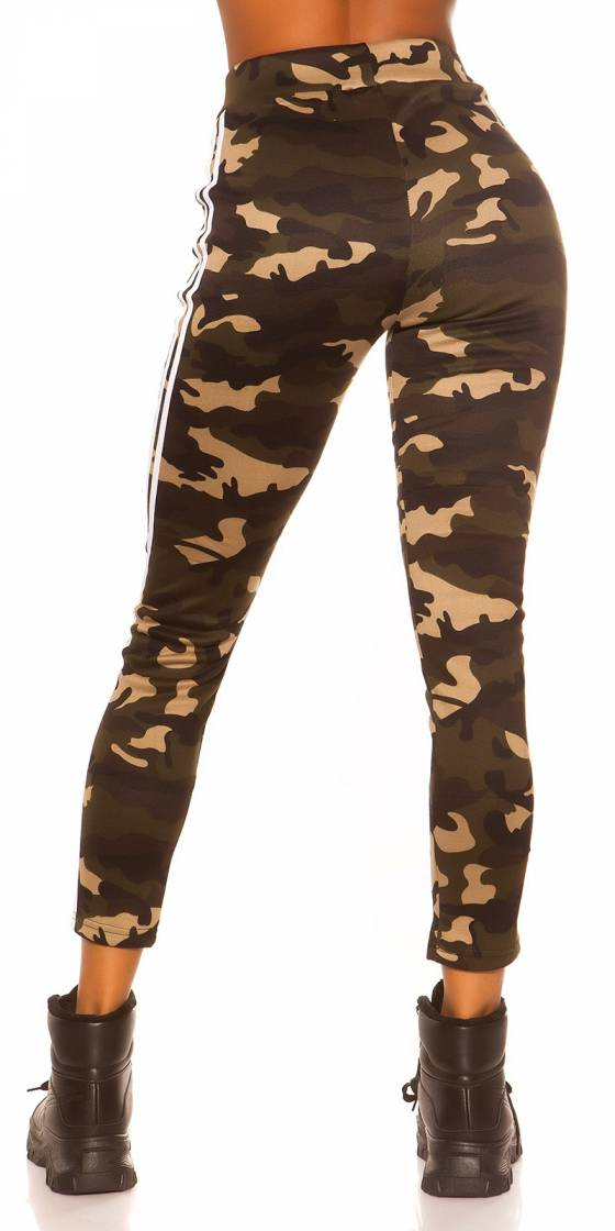 Leggings tendance fashion ANGELE couleur or