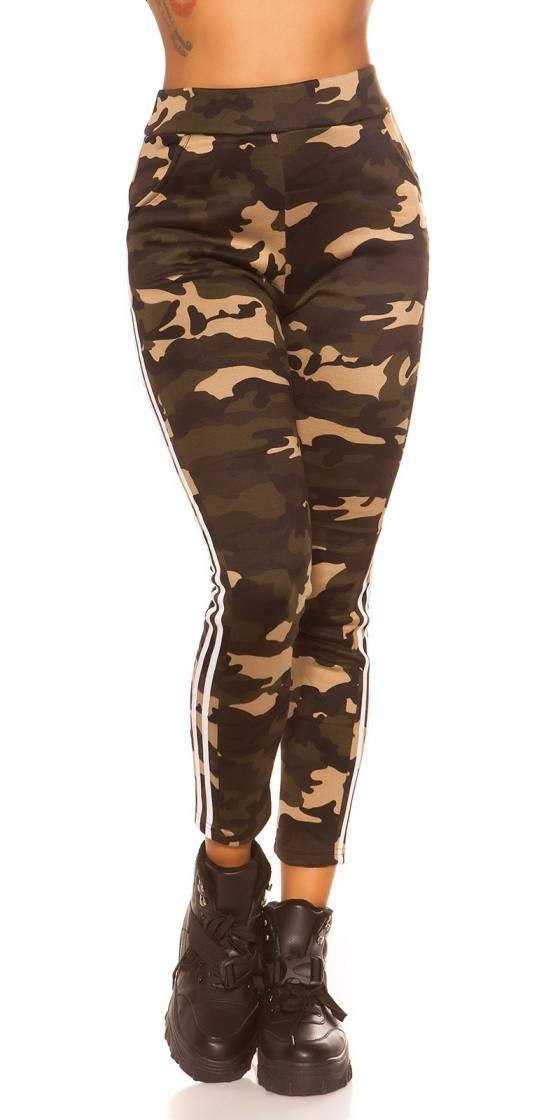 Leggings camouflage...