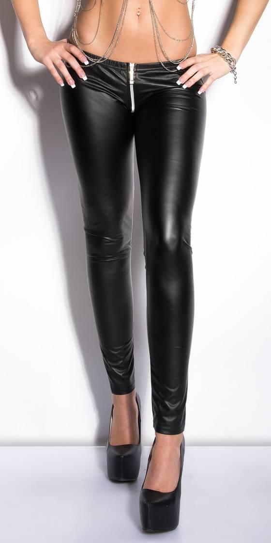 Leggings sexy effet cuir