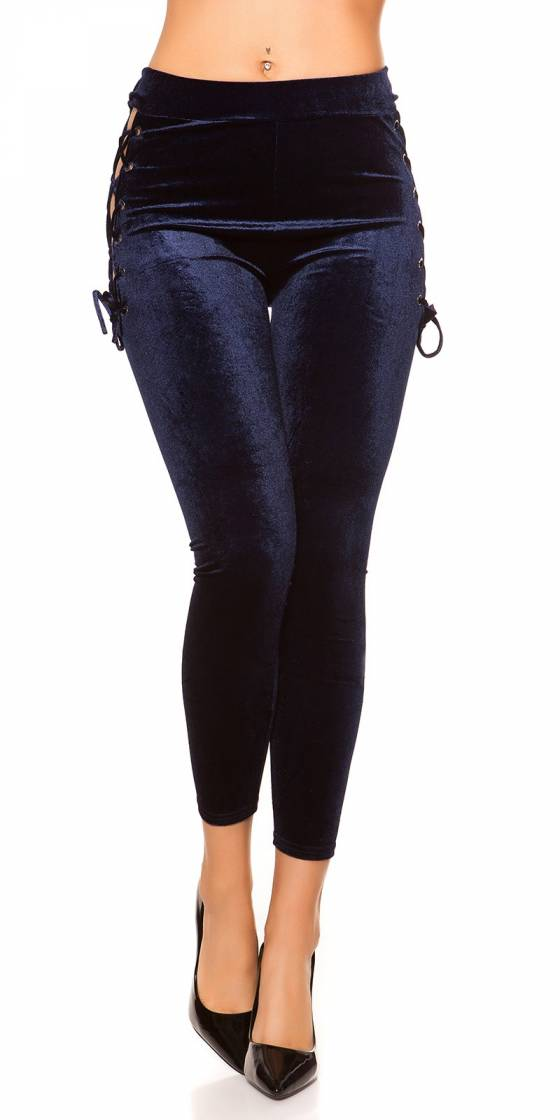 Jeggings femme fashion ELENA couleur bleu