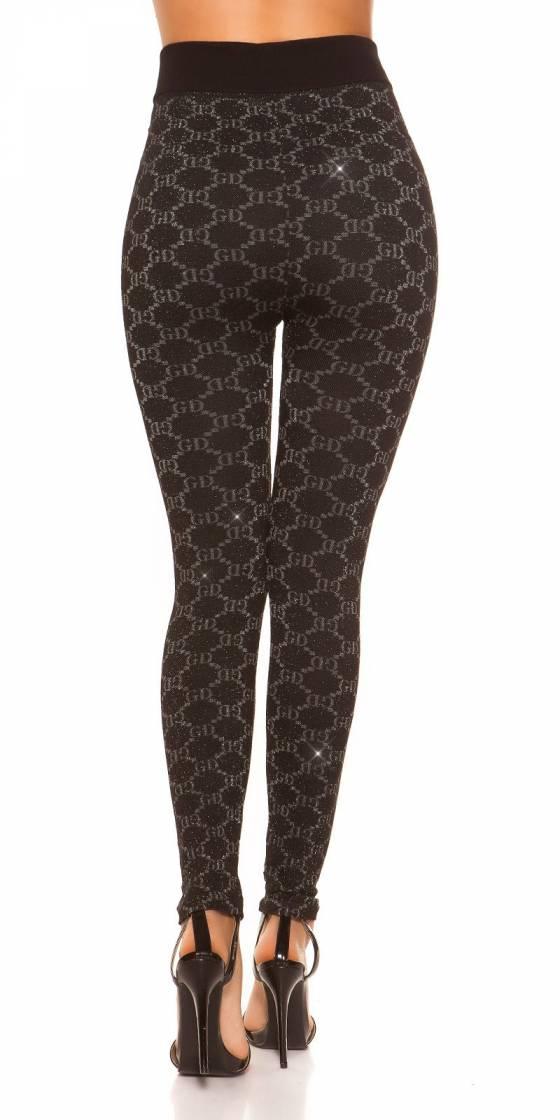 Leggings sexy motifs pailletés