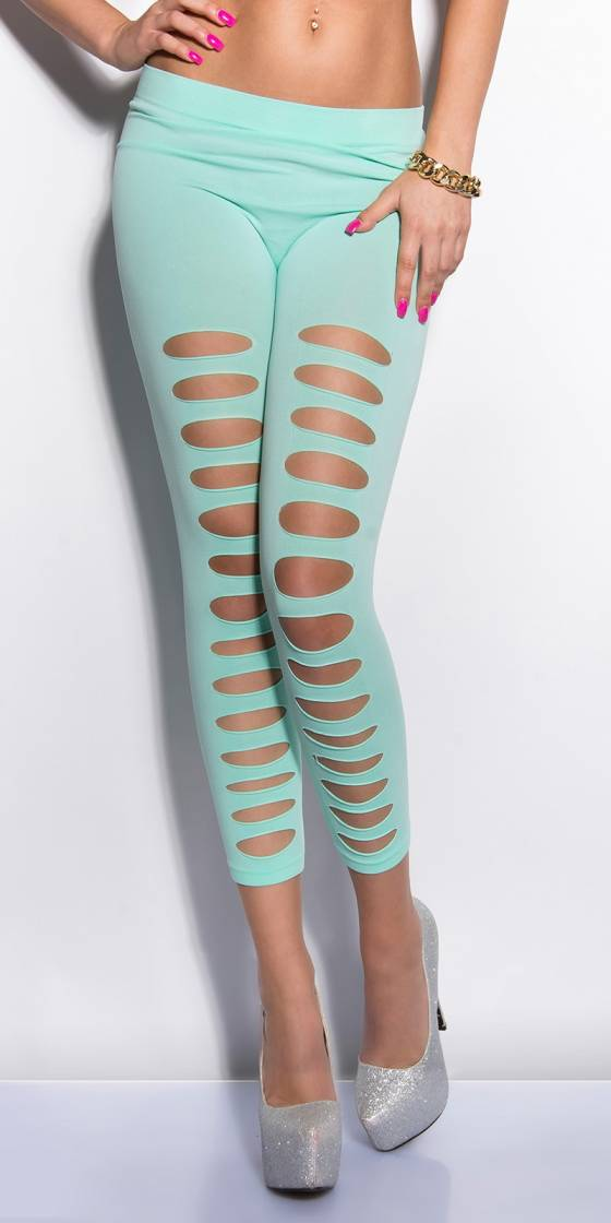Leggings sexy avec découpes