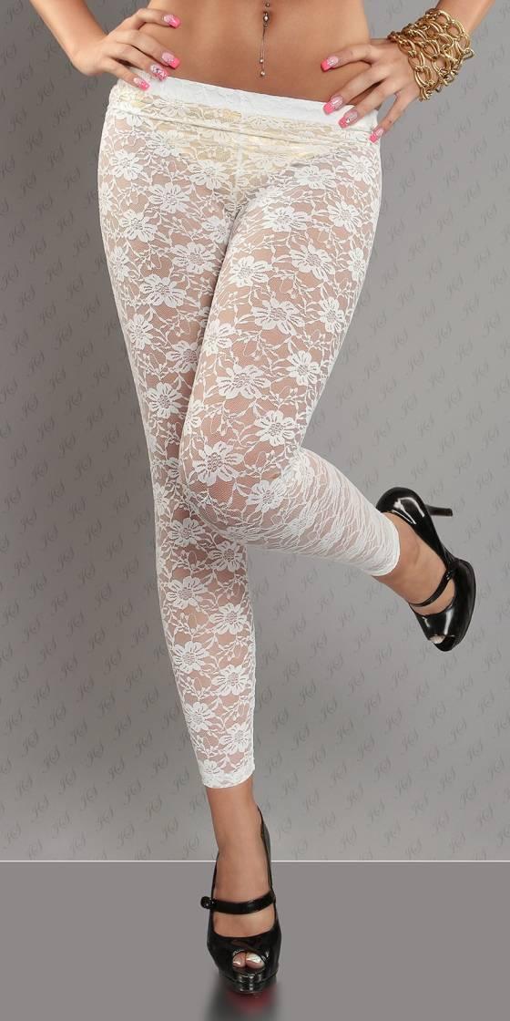 Leggings sexy en dentelle