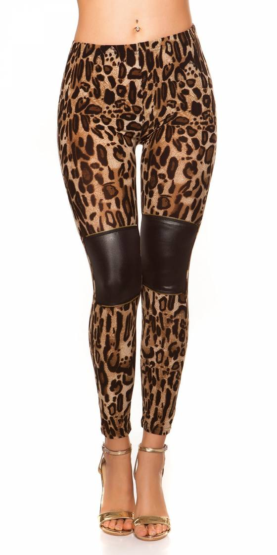 Leggings sexy look léopard...
