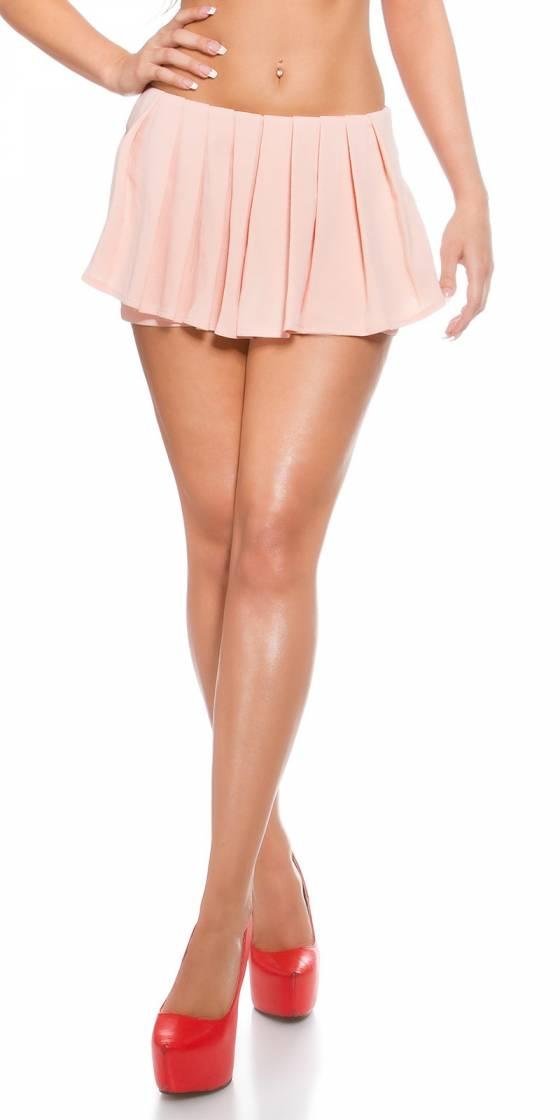 Short jupe plissée sexy