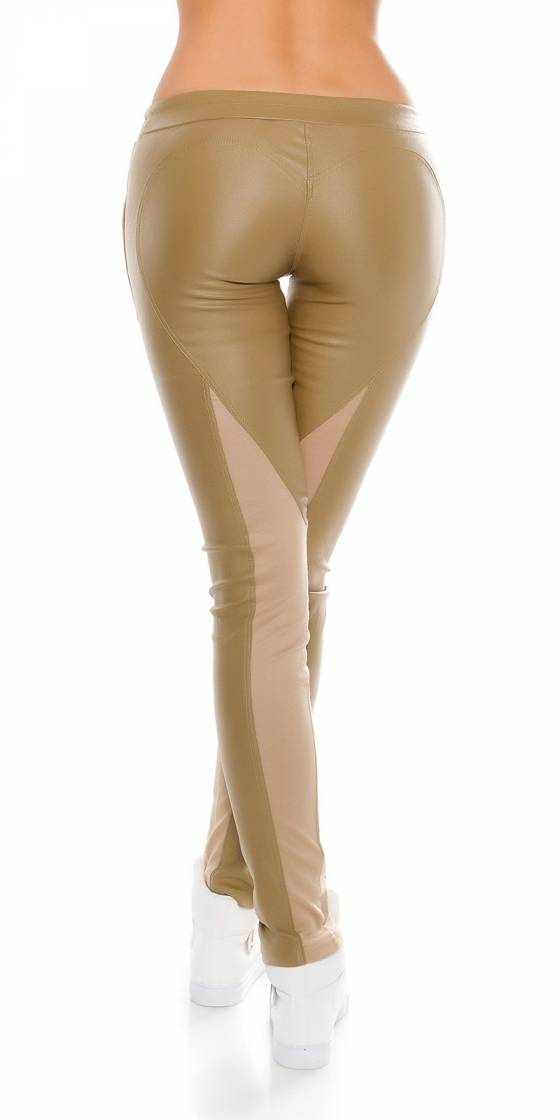 Pull femme tendance MELIANE couleur taupe