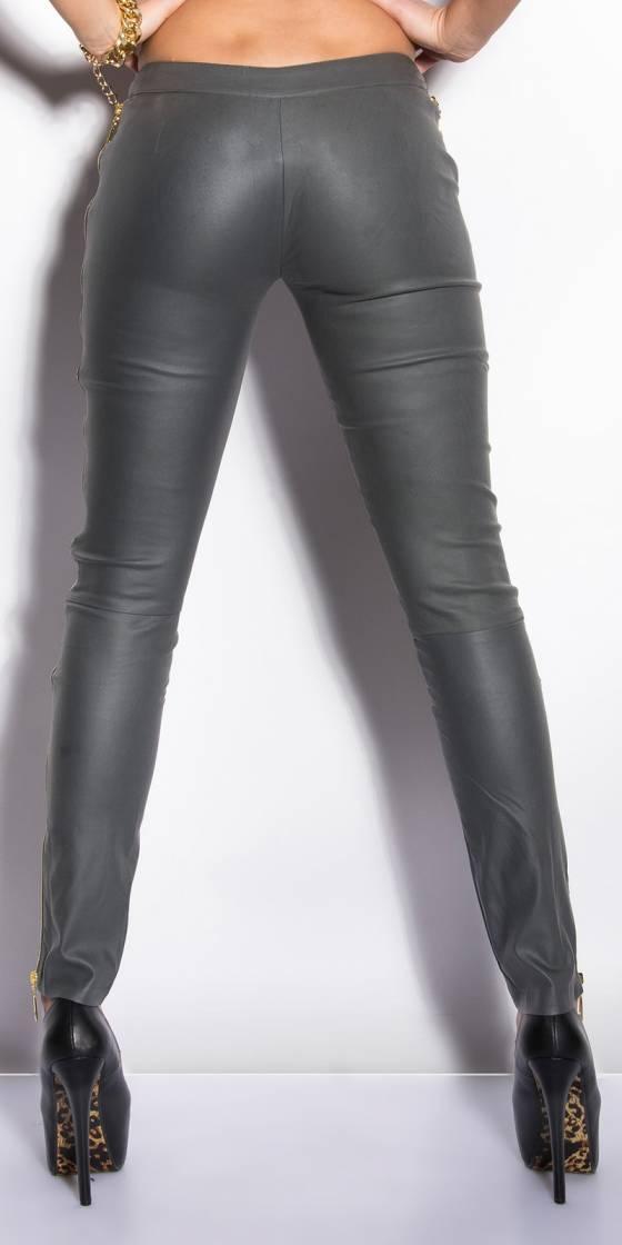 Robe fashion avec ceinture SONIA couleur pétrole/noir