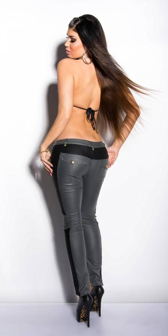 Pantalon femme tendance CECILIA couleur noir