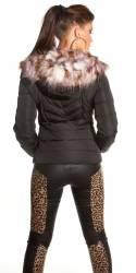 Pantalon femme sexy FANNY couleur noir